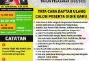 Pengumuman Hasil Penerimaan Peserta Didik Baru SMKN 3 Bandar Lampung Tahun Pelajaran 2020/2021